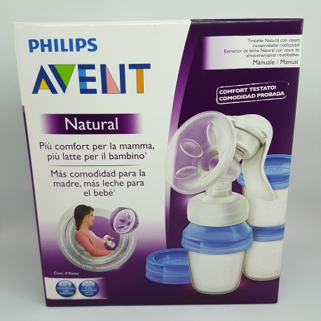 AVENT PHILIPS EXTRACTOR DE LECHE MANUAL VIA (iva21)