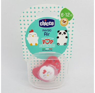 CHICCO CHUPETE POP FRIENDS AIR LATEX PHYSIO 6-12M