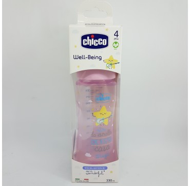 CHICCO MR WONDERFUL BIBERON PP T SILICONA FISIOL 4M+ 330 ML
