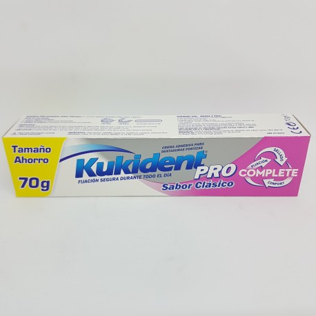 KUKIDENT PRO COMPLETE CLASICO 70 G